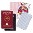 54 cards set, cristal box Piatnik