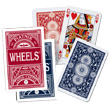 Wheels Poker cards set Piatnik