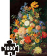 Flowers in a vase art puzzle Piatnik