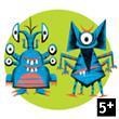 Spidmonster card game Djeco