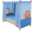 Matti Canopy Bed with opened head and foot
