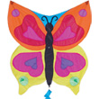 Rainbow Butterfly Fun Flyer Kites for kids 62.5 x 62.5 cm