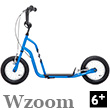 Wzoom Scooter 6+ - BLUE Yedoo