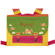 Schoolbag with embroidered name L'Oiseau Bateau