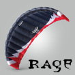 Rage 4.7m² - Kite only - Rasta