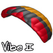 2-line Kite Vibe II 1.9 (red)