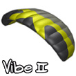 2-line Kite Vibe II 2.3 (yellow)