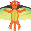 Orange Dragon Single Line Kite for kids Premier Kites & Designs