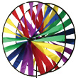 Twin Wheel Garden Spinner Premier Kites & Designs