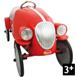 Red Le Mans Pedal car Baghera
