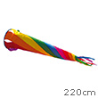 Rainbow Spinsock 220cm - Windgame Colours in Motion