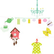 Zoe's Room Mobile Little Big Room by Djeco