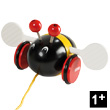 Bumble bee Pull-along toy BRIO