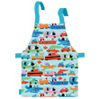 Oilcloth Apron for kids - Travelling Petit Jour