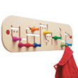 Movella Wooden Coat Hook Holder Selecta