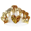 Crown of golden beads Anna Souza for kids