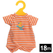 Orange striped Baby suit 30 cm Doll Clothes Corolle