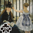 The Railway (Édouard Manet) Wooden Puzzle for adults Puzzle Michèle Wilson