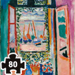 The Open Window (Henri Matisse) Wooden Art Puzzle Puzzle Michèle Wilson