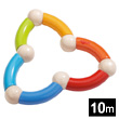 Color Snake Wooden Clutching Toy Haba