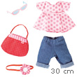 Jeans Set Aline for 30-34cm dolls Haba