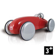 Wooden Lacquered Speedster Car - Red Vilac
