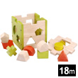 Wooden Shape Sorter EverEarth