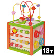 5-in-1 Garden Activity Wooden Cube EverEarth