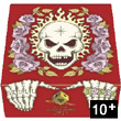 Skull &amp; Roses RED Lui-mme Editions