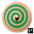Wooden Spiral Spinning Top
