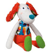 Doudou Antoine le chien - Peace & Love la Happy Farm Ebulobo