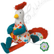 Bob the musical rooster Ebulobo