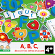 Eduludo Letters - 4 games Djeco