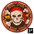 Pirate Shield - Foam Costumes for children