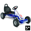 Blue and white F600L Go-Cart for kids Puky