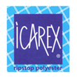 Icarex Polyester fabric 31g/m (per meter) Icarex
