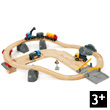 Circuit rail route transport de roches BRIO