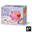 Creative Kit Paint Your Own Piggy Bank 4M - Kidz Labs
