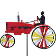 Red Old Time Tractor Garden Spinner Premier Kites