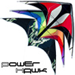 Power Hawk Power Stunt Kite Red Black