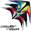 Power Hawk Power Stunt Kite Rainbow