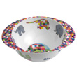 Bowl with handles for kids Elmer Elephant Petit Jour