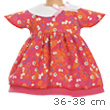 Cherry Dress Set 36-38 cm Doll Clothes Corolle