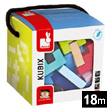 Kubix - 50 Geometrix Wooden Blocks Janod