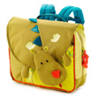 Green Schoolbag Walter Dragon Lilliputiens
