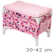 Doll Bed and Changing Table for 30 to 42 cm baby dolls Corolle
