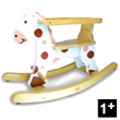 Roudoudou Rocking horse with removable hoop Vilac