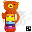 Teddy bear Wooden Metallophone Vilac