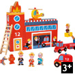 Story Box Firefighters Wooden Toys