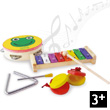 Percussion Instrument Set Wooden Toys Vilac